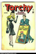 """Golden Age (1938-1955):Miscellaneous, Torchy #1 (Quality, 1949) Condition: GD/VG. The absolute personification of """"good girl"""" art - Torchy! Everyone wants her..."""