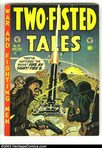 Two-Fisted Tales #29 (EC, 1952) Condition: FN. Harvey Kurtzman cover. Jack Davis, Dave Berg, and John Severin and Bill E...