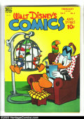 Golden Age (1938-1955):Funny Animal, Walt Disney's Comics and Stories 101-104 Group (Dell, 1949)Condition: Average FN. The issues in this lot are also known as ...(Total: 4 Comic Books Item)