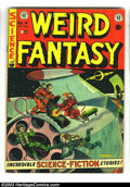 Golden Age (1938-1955):Science Fiction, Weird Fantasy #14 (EC, 1952) Condition: FN+. Al Feldstein cover.Frazetta/Williamson art, first team up at EC. Also Wally Wo...