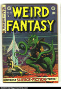 Golden Age (1938-1955):Science Fiction, Weird Fantasy #15 (EC, 1952) Condition: VG. Al Feldstein cover. JoeOrlando, Al Williamson, and Jack Kamen art. Overstreet 2...