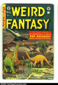 Golden Age (1938-1955):Science Fiction, Weird Fantasy #17 (EC, 1953) Condition: VG+. Al Feldstein cover. AlWilliamson and Roy Krenkel, Bill Elder, Joe Orlando, and...