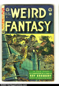 Golden Age (1938-1955):Science Fiction, Weird Fantasy #19 (EC, 1953) Condition: FR. Joe Orlando cover. AlWilliamson and Roy Krenkel, Jack Kamen, and Joe Orlando in...