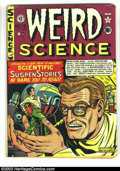 Golden Age (1938-1955):Science Fiction, Weird Science 12 (#1) (EC, 1950) Condition: VG/FN. First issue ofthis title. Harvey Kurtzman, Jack Kamen and Wally Wood art...