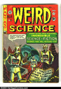 Golden Age (1938-1955):Science Fiction, Weird Science 14 (#3) (EC, 1950) Condition: VG-. Greatend-of-the-world cover and story by Al Feldstein. There is HarveyKur...