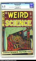 Golden Age (1938-1955):Science Fiction, Weird Science #8 (EC, 1951) CGC FN 6.0 Cream to off-white pages. AlFeldstein cover. Feldstein, Jack Kamen, and Wally Wood a...