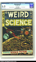 Golden Age (1938-1955):Science Fiction, Weird Science #11 (EC, 1952) CGC FN 6.0 Off-white pages. AlFeldstein cover. Joe Orlando, Jack Kamen, and Wally Wood. Jack K...