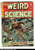 Golden Age (1938-1955):Science Fiction, Weird Science #12 (EC, 1952) Condition: GD. Wally Wood cover. JackKamen, Joe Orlando, and Wally Wood art. Overstreet 2003 G...