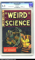 Golden Age (1938-1955):Science Fiction, Weird Science #19 (EC, 1953) CGC FN+ 6.5 Off-white pages. Used inSeduction of the Innocent. Ray Bradbury biography. Wal...