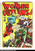 Golden Age (1938-1955):Crime, Women Outlaws #6 (Fox, 1949) Condition: FN-. Good looking and good with a gun, you don't want to mess around with any of the...