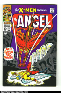X-Men #44 (Marvel, 1968) Condition: VF. Don Heck cover and art. George Tuska art. First Silver Age appearance of the Gol...