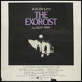 "Movie Posters:Horror, The Exorcist (Warner Brothers, 1973). International Six Sheet (81"" X 81""). Horror...."