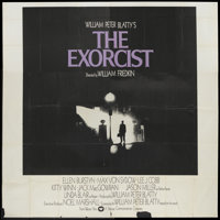 "The Exorcist (Warner Brothers, 1973). International Six Sheet (81"" X 81""). Horror"