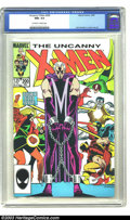 Modern Age (1980-Present):Superhero, X-Men #200 (Marvel, 1985) CGC NM+ 9.6 Off-white pages. John Romita Jr. cover and art. Double sized issue. Overstreet 2003 NM...