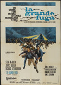 "Movie Posters:War, The Great Escape (United Artists, R-1980). Italian 2-Foglio (39"" X55""). War.. ..."