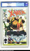Modern Age (1980-Present):Superhero, Uncanny X-Men #206 (Marvel, 1986) CGC NM/MT 9.8 White pages. John Romita Jr. cover and art. Overstreet 2003 NM 9.4 value = $...
