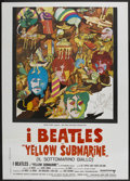 "Movie Posters:Animated, Yellow Submarine (United Artists, R-1970s). Italian 2 - Folio (39""X 55""). Animated...."