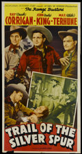 """Movie Posters:Western, Trail of the Silver Spur (Monogram, 1941). Three Sheet (41"""" X 81""""). Western...."""
