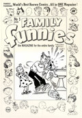 Original Comic Art:Covers, Al Avison (attributed) - Original Cover Art for Family Funnies #5(Harvey, 1950s). Apparently Daisy's blue tongue (acquired ...