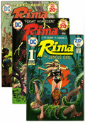 Bronze Age (1970-1979):Miscellaneous, Rima the Jungle Girl #1-7 Group (DC, 1974-75) Condition: AverageVF.... (Total: 7 Comic Books)