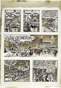 "Original Comic Art:Panel Pages, Wally Wood - Three Dimensional EC Classics ""V-Vampires,"" page 7Original Art (EC, 1954). ..."
