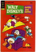 Bronze Age (1970-1979):Cartoon Character, Walt Disney's Comics and Stories #398 Signed By Carl Barks (GoldKey, 1973) Condition: FN-....