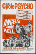 "Movie Posters:Action, Angels from Hell (American International, 1968). One Sheet (27"" X 41""). Action...."