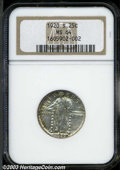 Standing Liberty Quarters: , 1920-S MS64 NGC. ...
