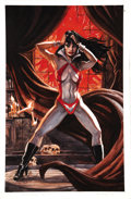 Original Comic Art:Covers, Dan Brereton - Vampirella Back Cover Original Art (2003)....