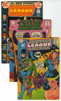 Silver Age (1956-1969):Superhero, Justice League of America #65, 66, and 100 Group (DC, 1968-72) Condition: Average VF.... (Total: 3 Comic Books)