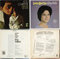"Music Memorabilia:Autographs and Signed Items, Various Oldies Artist Autographed LP Cover Group of 17. Ed Ames ""MyCup Runneth Over"" signed by Ed Ames; Ray Anthony ""Worrie... (Total:17 )"