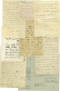 """Autographs:Military Figures, Philip H. Sheridan Autograph Letter Signed """"P.H. Sheridan."""" Three pages, 5"""" x 6.5"""", Chicago, July 2, 1878. The letter wa..."""
