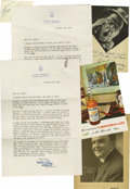 Entertainment Collectibles:Theatre, (Vintage Stage Stars) A fine collection of material consisting of 25 signed pieces by some of the theatrical greats of the f... (Total: 25 )