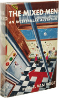 Books:First Editions, A. E. Van Vogt: The Mixed Men: An InterstellarAdventure. (New York: Gnome Press, 1952), first edition, 223pages, j...