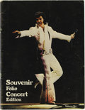 Music Memorabilia:Memorabilia, Elvis Presley Vintage Tour Book Volume Six (1972). A vintage copy of the Souvenir Photo Folio Concert Edition 1972 tour book...