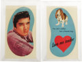 Music Memorabilia:Memorabilia, Elvis Presley Unused Toy Guitar Decals. A pair of unused decals(instructions included) like the ones used to decorate the 1...