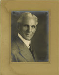 Autographs:Inventors, Henry Ford Photograph Signed...