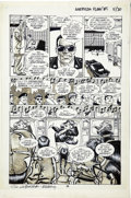 Original Comic Art:Panel Pages, Mike Vosburg - Howard Chaykin's American Flagg #5, page 11 Original Art (First, 1988)....