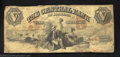 Obsoletes By State:Alabama, 1855 $5 Central Bank of Alabama, Montgomery, AL, Very Good....