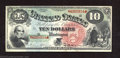 Large Size:Legal Tender Notes, 1869 $10 Legal Tender Note, Fr-96, Choice Crisp Uncirculated. ...
