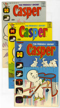 Bronze Age (1970-1979):Cartoon Character, Friendly Ghost Casper File Copy Group (Harvey, 1971-74) Condition:Average VF.... (Total: 9 Comic Books)