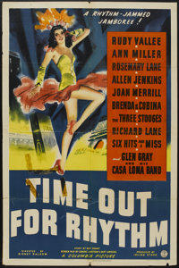 """Time Out for Rhythm (Columbia, 1941). One Sheet (27"""" X 41""""). Comedy"""