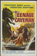 "Movie Posters:Science Fiction, Teenage Caveman (American International, 1958). One Sheet (27"" X41""). Science Fiction...."