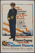 "Movie Posters:War, The Gallant Hours (United Artists, 1960). One Sheet (27"" X 41"").War...."