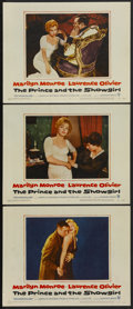 "Movie Posters:Romance, The Prince and the Showgirl (Warner Brothers, 1957). Lobby Cards (3) (11"" X 14""). Romance.... (Total: 3 Items)"