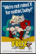 "Movie Posters:Animated, Fritz the Cat (American International, 1972). College Poster (18"" X27""). Animated...."