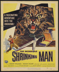 "Movie Posters:Horror, The Incredible Shrinking Man (Universal International, 1957). Window Card (14"" X 17.25""). Horror...."