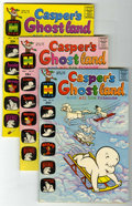 Bronze Age (1970-1979):Cartoon Character, Casper's Ghostland File Copy Group (Harvey, 1970-72) Condition:Average VF.... (Total: 7 Comic Books)
