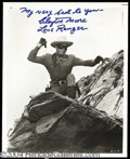 Autographs, Clayton Moore Lone Ranger Signed Photo