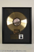 "Autographs, Stevie Nicks Framed Gold Record Award (""Seinfeld"")"